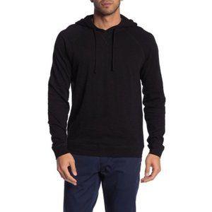 NWT Vince Raglan Sleeve Pullover Hoodie Black M